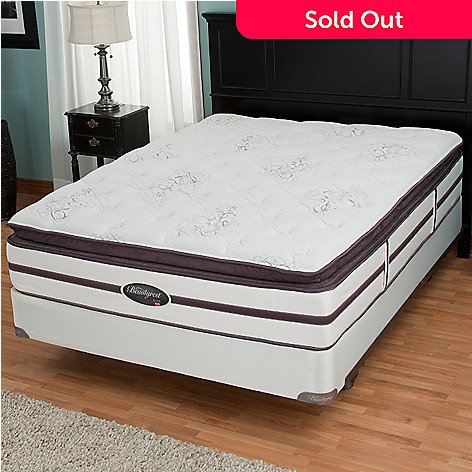 432-012 - Simmons® Beautyrest® Elite™ ''Weverton'' Plush Pillowtop Mattress Set