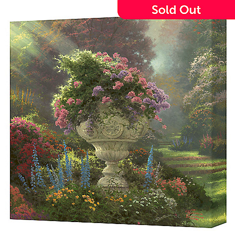 432-035 - Thomas Kinkade ''Garden of Hope'' 14'' x 14'' Gallery Wrap