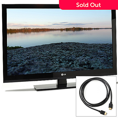 432-056 - LG 42'' 1080p LCD Intelligent Sensing HDTV w/ HDMI Cable