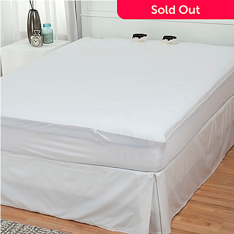 432-090 - Cozelle® Quilted Digital Heated Mattress Pad