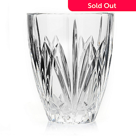 432-361 - Marquis by Waterford Brookside 5.5'' Crystalline Hurricane Vase