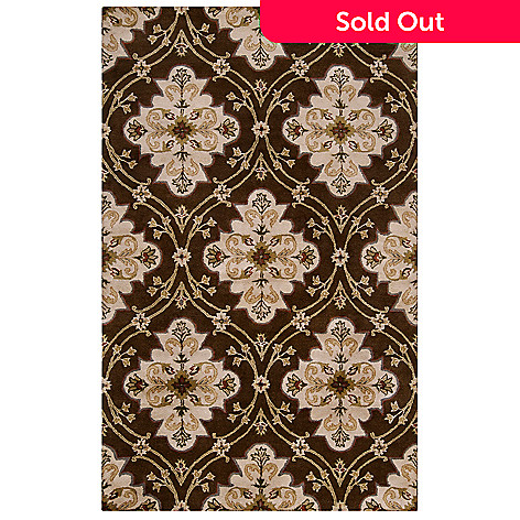 432-397 - Surya ''Bursting'' Hand Tufted Wool Rug