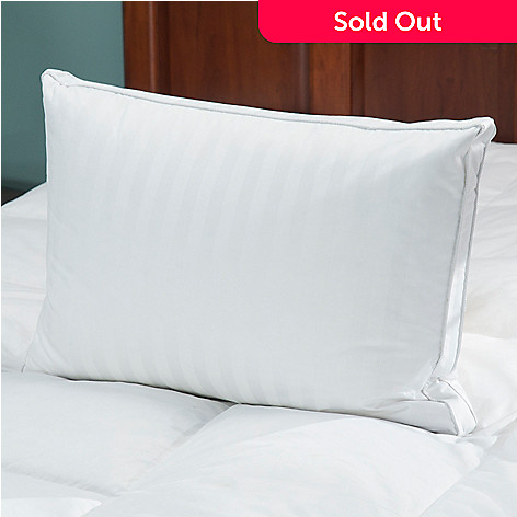 432-479 - North Shore Linens™ 350TC Cotton Damask Feather & Down Pillow