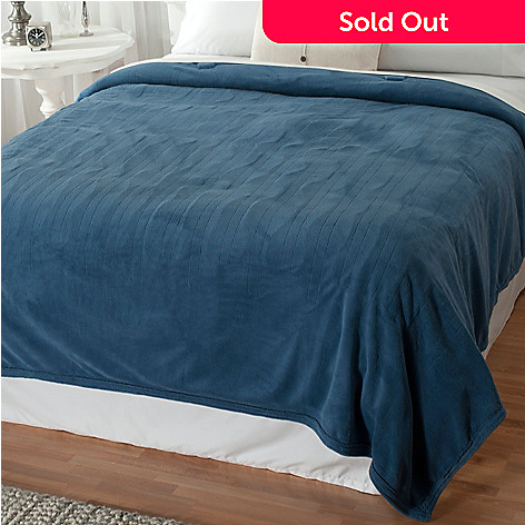 432-498 - Cozelle® Microplush Digital Electric Blanket