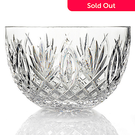 432-523 - Waterford Crystal Granville 10'' Bowl -Signed by Jorge Perez