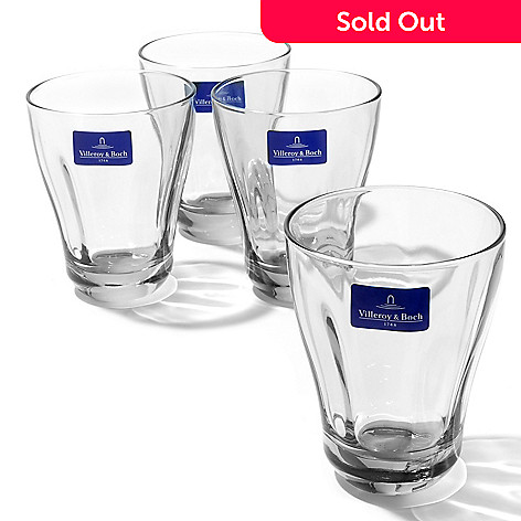 432-540 - Villeroy & Boch Farmhouse Touch Four-Piece Crystal Drinkware Set