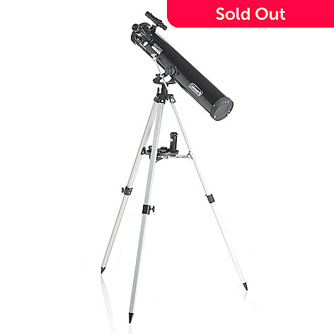 432-545 - Coleman Astrowatch™ 700 x 76 Reflector Telescope w/ Case, Lenses & Tripod