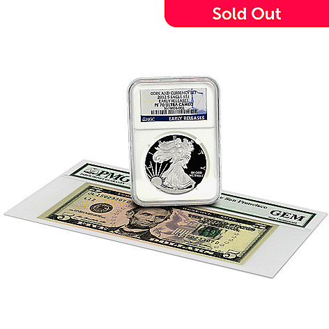 432-634 - 2012 150th Anniversary NGC & PMG Two-Piece Coin & Currency Set