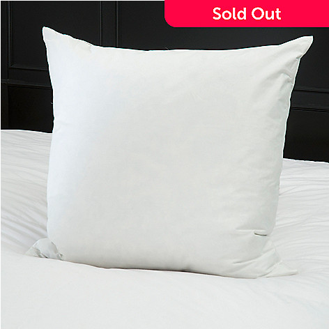 432-670 - Cozelle® 230TC Cotton Twill Feather Euro Pillow