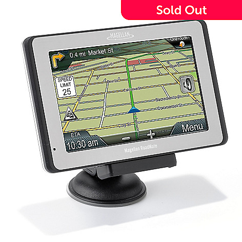 432-713 - Magellan® RoadMate® 5175T-LM Traveler 5'' GPS w/ Lifetime Maps & Traffic