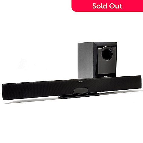432-727 - Affinity 2.1 Ch. Cinema Bluetooth™ Sound Bar System w/ 6.25'' Subwoofer