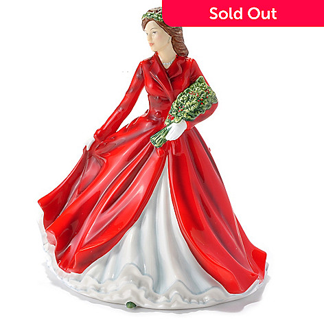 432-827 - Royal Doulton® Deck the Halls 6.7'' Bone China Figurine