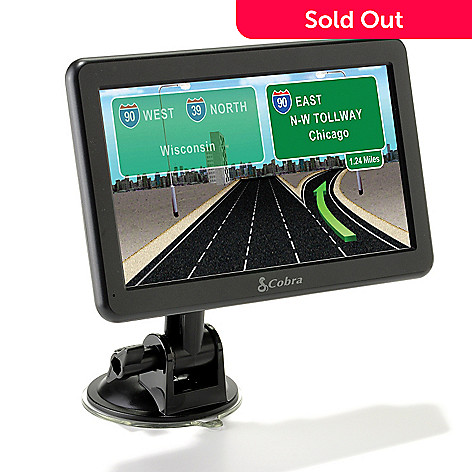 432-840 - Cobra® 7750 Platinum 7'' Professional Driver Navigation Unit