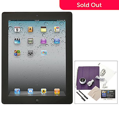 432-849 - Apple iPad 3rd Generation 16GB Multi-Touch Retina Display Tablet w/ Accessories Kit