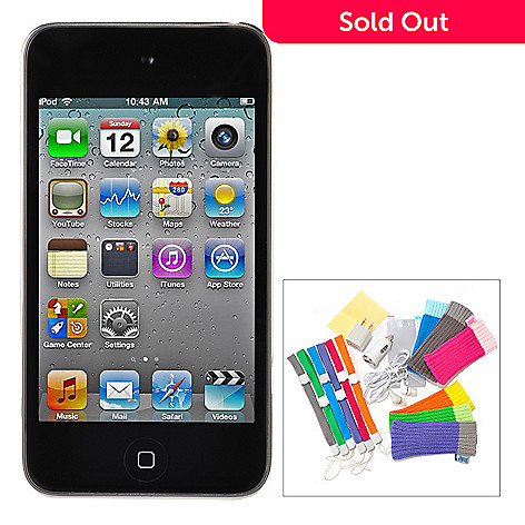 432-852 - Apple iPod Touch 4th Generation w/ 16-Piece Accessory Kit