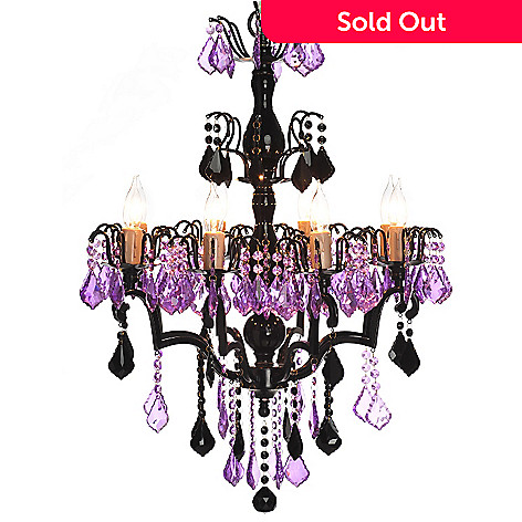 432-963 - Style at Home with Margie 27'' St. Sabrina's Crystal Chandelier
