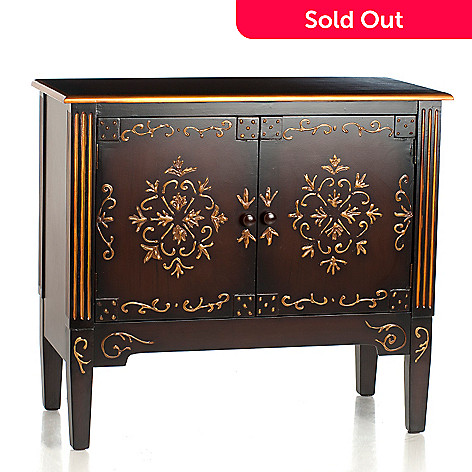 432-968 - Style at Home with Margie 31.5'' Dempsey Two-Door Chest