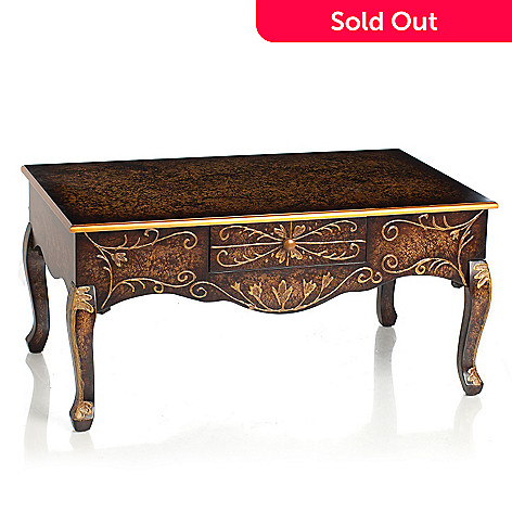 432-973 - Style at Home with Margie 38'' Dempsey Coffee Table