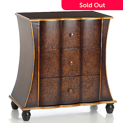 432-975 - Style at Home with Margie 27.56'' Bayclyfe Three-Drawer Chest