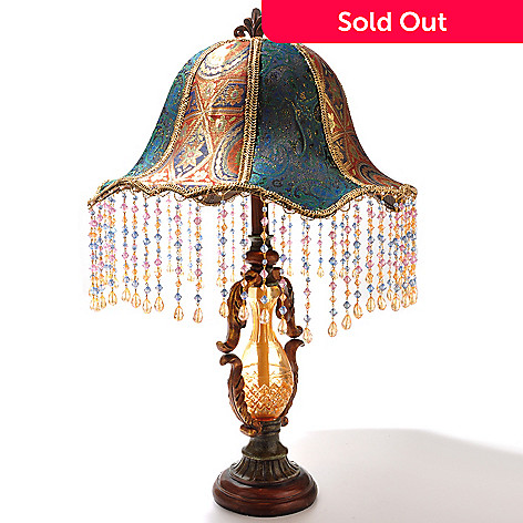 433-019 - Style at Home with Margie 28'' Beaded Ashe Table Lamp