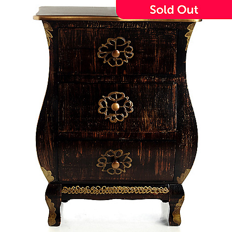 433-025 - Style at Home with Margie 28.35'' Deveroux Three-Drawer Chest