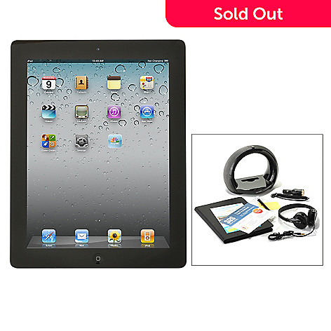 433-034 - Apple iPad 3rd Generation Retina Display Tablet w/ Accessory Kit