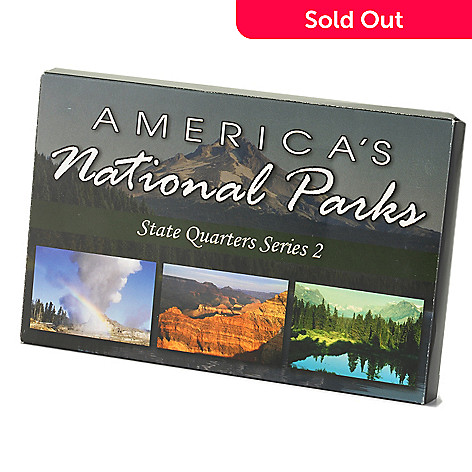 433-152 - America's National Parks 2012-2021 Quarter Collection