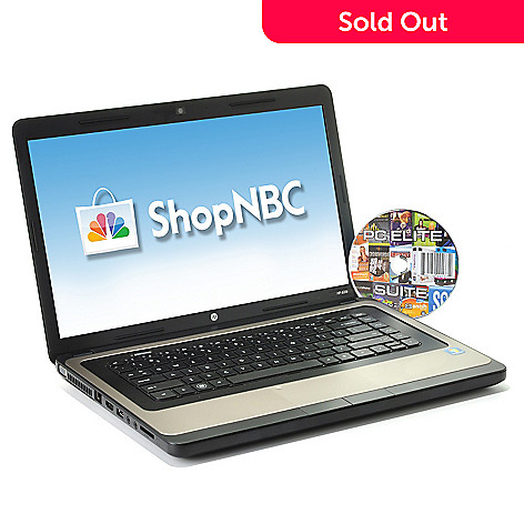 "433-155 - HP 15.6"" LED 4GB RAM/500GB HD Intel Core i3 Notebook w/ Software Suite"