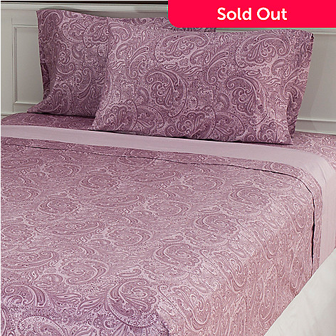 433-248 - North Shore Linens™ 500TC Egyptian Cotton Four-Piece Sheet Set