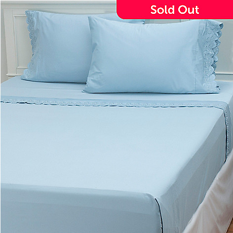 433-251 - North Shore Linens™ 400TC Egyptian Cotton Four-Piece Sheet Set