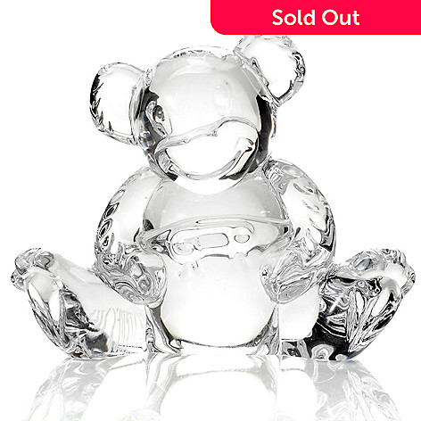 433-256 - Waterford Crystal 3-1/2'' Teddy Bear