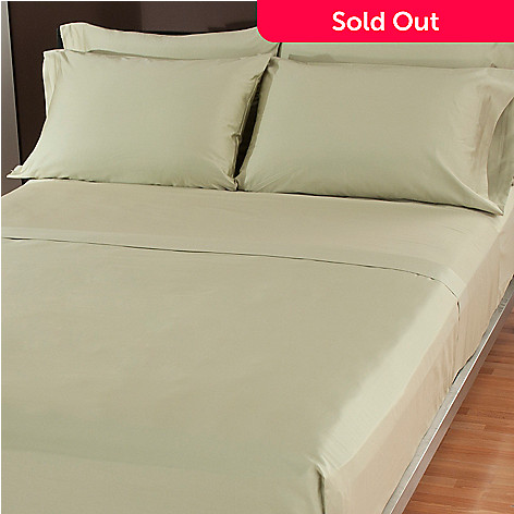 433-257 - North Shore Linens™ 500TC Egyptian Cotton Six-Piece Sheet Set