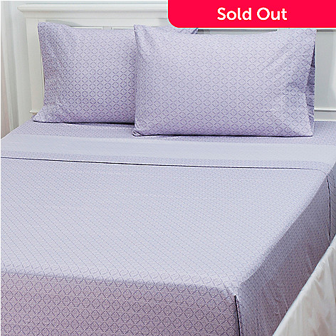 433-294 - Cozelle® ''Charlotte'' Microfiber Four-Piece Sheet Set