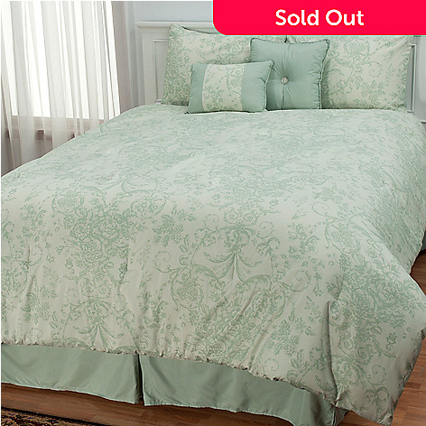 433-300 - North Shore Living™ ''Wilmington'' Six-Piece Bedding Ensemble