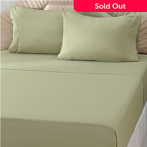 433-305 - Cozelle® ''Carolina'' Microfiber Four-Piece Sheet Set