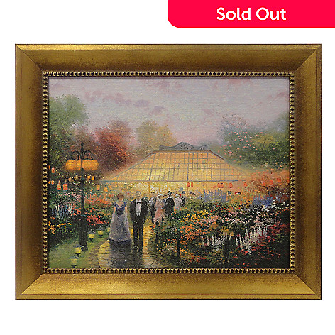 433-314 - Thomas Kinkade ''The Garden Party'' 16'' x 20'' Framed Print