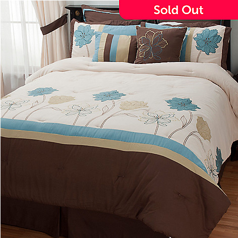 433-715 - North Shore Linens™ ''Hudson Park'' Eight-Piece Bedding Ensemble