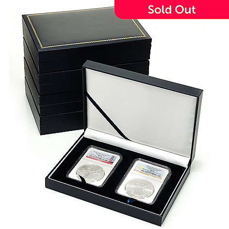 433-750 - 2012 Silver American Eagle NCG MS70 10-Piece Matched Coin Set