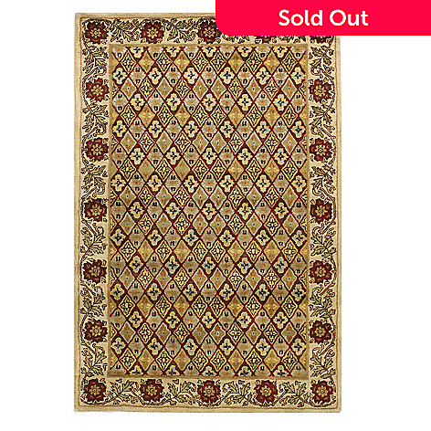 433-755 - Bashian ''Oxford'' 5' x 8' or  8' x 10' Hand Tufted 100% Wool Rug