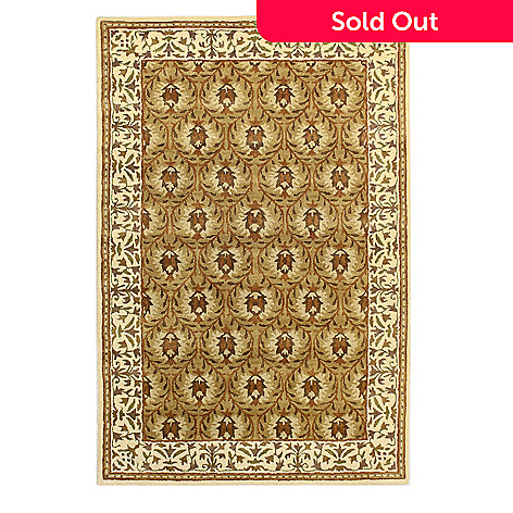 433-757 - Bashian ''Ashland'' 5' x 8' or  8' x 10' Hand Tufted 100% Wool Rug