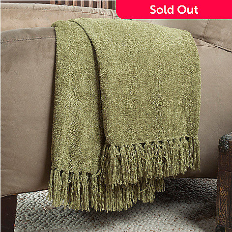 433-768 - Cozelle® Chenille 60'' x 50'' Throw