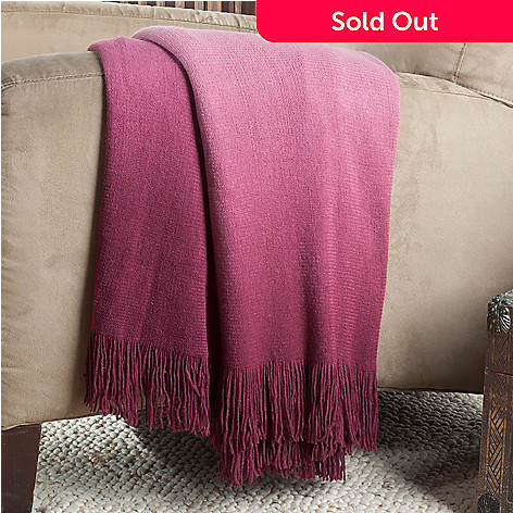 433-769 - North Shore Linens™ Ombre 60'' x 50'' Knit Throw