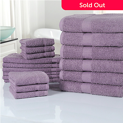 433-913 - Cozelle® 100% Cotton Ultra-Absorbent 18-Piece Towel Set