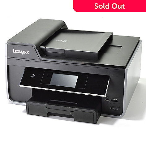 433-941 - Lexmark® Pro All-in-One Inkjet Printer, Scanner, Copier & Fax Machine
