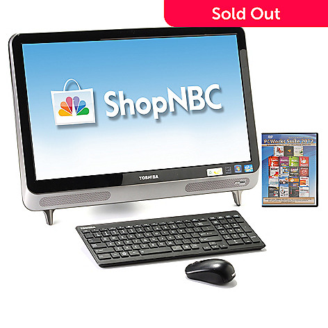 433-944 - Toshiba 23'' LED Touchscreen Intel® Core™ i5 6GB RAM/1TB HD All-in-One Desktop