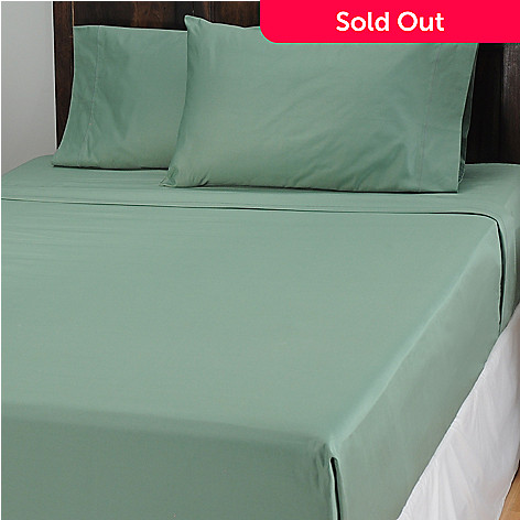 434-052 - North Shore Linens™ 1000TC Egyptian Cotton Marrow Stitch SureSoft® Four-Piece Sheet Set