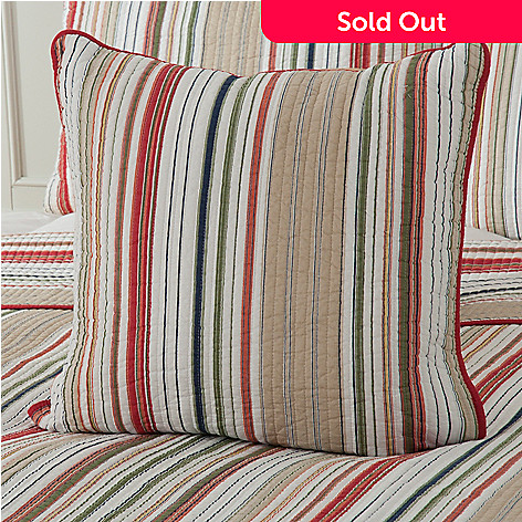434-057 - North Shore Linens™ ''Mesa Stripe'' 20'' x 20'' Decorative Pillow