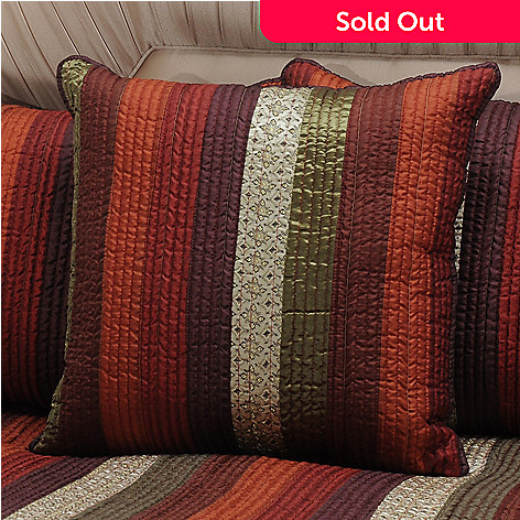 434-069 - North Shore Linens™ ''Venetian Stripe'' 20'' x 20'' Decorative Pillow