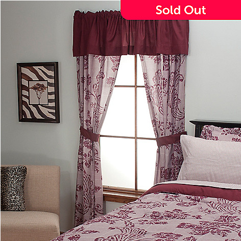 434-355 - Cozelle® ''Morgan'' Five-Piece Window Set