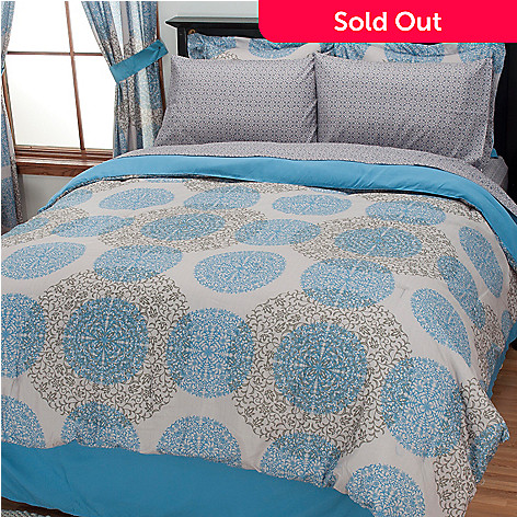 434-357 - Cozelle® ''Madison'' Eight-Piece Bedding Ensemble